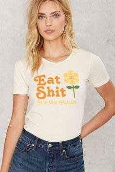 Sugarhigh Lovestoned Eat Shit Tee - Graphics