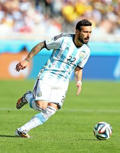 Ezequiel Lavezzi - Argentina NT. I just found myself very attracted to this guy throughout FIFA!