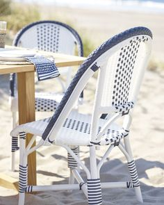 Serena & Lily Outdoor Riviera Side Chair
