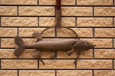 Metallic decor/Fish Metal/Stamping Metal/Fish on от KrainaHandmade Metallic Decor, Metal Fish, Sea And Ocean, Staircases, Metal Stamping, Lighthouses, Pools, Wall Decor, Gardens