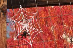 free crochet halloween decorations free crochet cobweb pattern free crochet spiderweb pattern