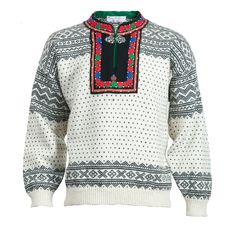 Setesdal Husflid Nordic Sweater, Knitting Books, Knit Fashion, Crocheting, Knit Crochet, Wool, Pattern, Sweaters, Diy