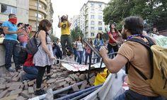 Türkiye'den Gezi Parkı eylemi görüntüleri