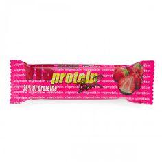 VIS PROTEIN barretta proteica al cioccolato bianco e fragola 50gr 36% di proteine