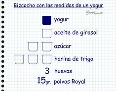 Cómo hacer bizcocho de yogur