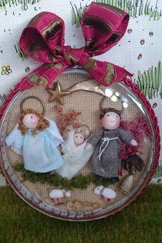 Tumima Dolls de Marisa Madejón. Nativity Ornaments, Christmas Ornaments, Christmas Ideas, Holy Night, Reyes, My Favorite Things, Holiday Decor, Minis, Crafts