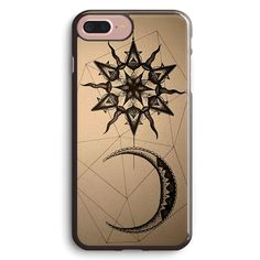 Dotwork Sun and Moon Apple iPhone 7 Plus Case Cover ISVC716