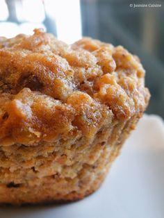 Muffins à l'avoine et aux carottes - Jasmine Cuisine Tim Hortons, Pains, Churros, Muffin Recipes, Shortbread, Scones, Sugar Free, Smoothies, Biscuits