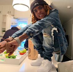 Cute Black Guys, Black Boys, Cute Boys, Dope Outfits For Guys, Boy Outfits, Male Outfits, Fashion Outfits, Dread Hairstyles For Men, Strong Woman Tattoos