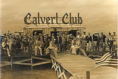 1938 -Calvert Club - Stiltsville in Biscayne Bay