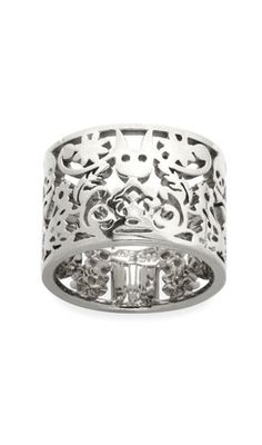 1848152ab6f Karen Walker Silver Filigree Ring - to go with the cuff.
