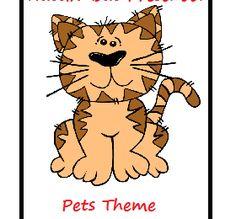 Pets Preschool Kids Lesson Plan Theme