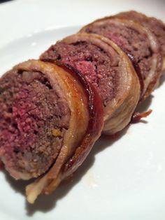 Jen's Gone Paleo: Bacon-Wrapped Meatloaf (Paleo Meat Log)