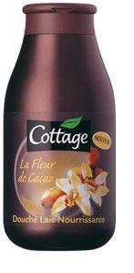 Douche Lait Nourrissante à la Fleur de Cacao - COTTAGE