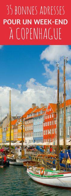 35 good addresses for a weekend in Copenhagen Weekender, Oslo, Voyage Suede, Denmark Travel, Reisen In Europa, Voyage Europe, Destination Voyage, Europe Destinations, Travel Europe