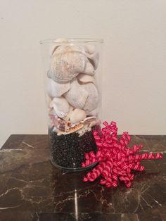 Beach Wedding Centerpiece Vase Vase Fillers Sea by AmorNtheBox