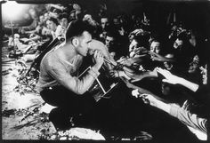 Morrissey in concert at the Point in Dublin, April 1991. Picture by Kevin Cummins.
