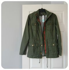 Market and Spruce Chaplin Lined Anorak--Love this green coat Stitchfix-please please please send me this