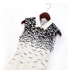 Birds. #annefontaine #new #collection #spring #summer #birds #top #fashion #french #designer www.annefontaine.com