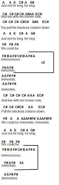 Flute Sheet Music: Immortals
