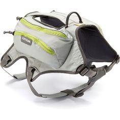 Ruffwear Singletrak Hydration Dog Pack. Good for hot summer hiking, light breathable