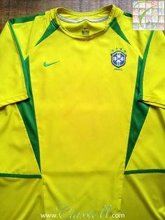 2002 03 Brazil Home Football Shirt (XL). Vintage Football ShirtsClassic ... 5814c2d82
