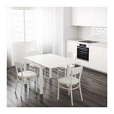 IKEA - BJURSTA, Ausziehtisch, Mit 2 Ausziehplatten.Esstisch mit 2 ausziehbaren Zusatzplatten; bietet Platz für 4 Personen. Größe des Tisches je nach Bedarf anpassbar.Zusatzplatten sind praktische Abstellfläche und lassen sich nach Gebrauch griffbereit unter der Tischplatte verstauen.Die klar lackierte Oberfläche ist leicht sauber zu halten.