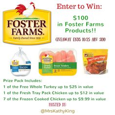 Java John Z's : Foster Farms Giveaway