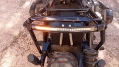 feu arrière intégré sur boucle bmw scrambler