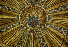Mosaics on the dome of the Córdoba Mosque.  Photo by Manuel de Corselas, licensed under the Creative Commons Attribution-Share Alike 3.0 Unported license.  Read more: http://islamic-arts.org/2014/domes/