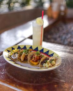 Tonight's Taco Tuesday Lineup. 🤤 Tag your squad and join us for tacos + select $5 cocktails at Miss B's! . 🌮  Beef - ropa, cheddar cheese, sour cream, salsa 🌮  Chicken - braised chicken, gruyere, sauteed spinach aioli 🌮  Pork - fried ham, beer cheese, sour cream, cherry peppers 🌮  Fish - mahi, coconut rice, pineapple guava jam, arugula 🌮  Veggie -  bbq butternut squash, black beans, queso fresco, salsa #lajollalocals #sandiegoconnection #sdlocals - posted by Miss B's Coconut Club…