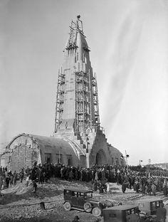 Post WW1: Dedication of Ossuary,  Housing the French Dead of Verdun.