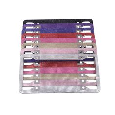Looking for bling license plate frames? Details about Handcrafted Clear White Rhinestone Crystal License Plate Frames. Rhinestone License Plate Frames, Ningbo, Western Union, Shanghai, Crystal Rhinestone, Bubbles, Packing, Sea, Detail