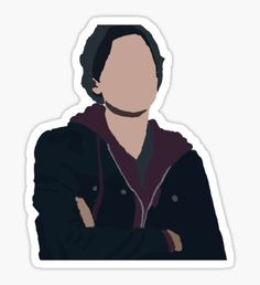 'Jughead Jones III// Riverdale Minimalist' Sticker by EefaRose - Modern Tumblr Stickers, Diy Stickers, Printable Stickers, Laptop Stickers, Wallpaper Iphone Cute, Cute Wallpapers, Jughead Jones Aesthetic, Archie Comics Riverdale, Cole M Sprouse