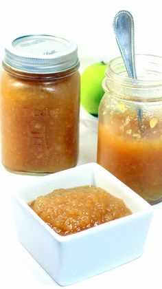 HONEY APPLESAUCE Have Some Honey Applesauce, HONEY!!! - Small Batch Canning... DELICIOUS... And the naturally sweet HONEY replaces the sugars found in store bought.  Plus a few  Fall Seasonings makes this taste like Apple Pie FIlling.  Tiny bit of work will set you up with 4 jars and a SWEET FLAVORFUL DELIGHTFUL SNACK!   EASY EASY EASY!!!