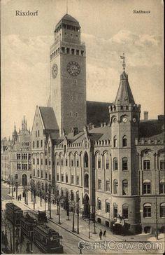 Rathaus Rixdorf, heute Neukölln, ca. 1905
