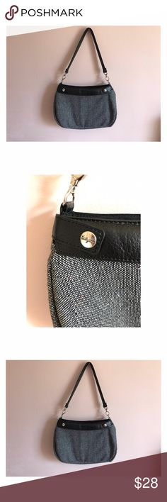 """Discontinued Thirty-One Gifts Suite Skirt Purse •Black """"Suite Skirt"""" purse •Grey skirt •NWOT Thirty-One Gifts Bags Shoulder Bags"""