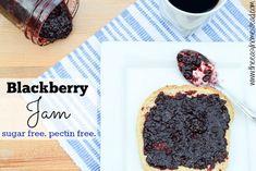 Blackberry Jam Recipe with Honey!!