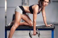 Упражнения с гантелями на трицепс.  Хотите подтянутые красивые руки с рельефными мышцами? Тогда добавляем к основной тренировке приведенные в статьи упражнения с гантелями.