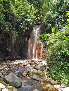 Diamond Falls, St Lucia