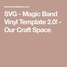 SVG Template used to create your own Magic Band designs! Our kids used these before our recent trip to Disney World and created bands that both they and the Disney employees loved! Magic Band 2, Disney Magic Bands, Disney World Trip, Disney Vacations, Disney Travel, Space Crafts, Craft Space, Magic Band Decals, Disney Planning