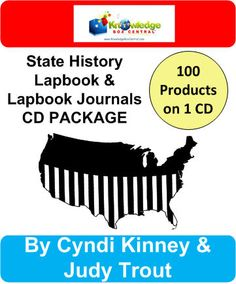 100 State History Lapbooks & Lapbook Journals PACKAGE