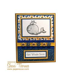 Get Whale Soon – featuring free digital stamp from Clearly Besotted, by Paperesse.