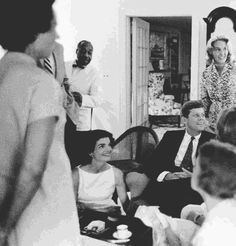Jackie, JFK and Joan