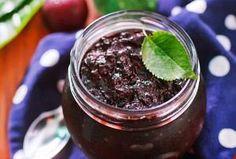 Μαρμελάδα βύσσινο Healthy Cooking, Cooking Recipes, Acai Bowl, Food And Drink, Sugar, Breakfast, Sweet, Acai Berry Bowl, Morning Coffee