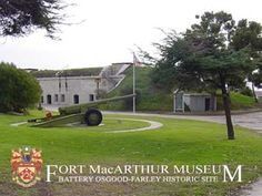 Fort MacArthur Museum. Open 12-5 pm Tues, Thurs, weekends, & holidays. Free admission.