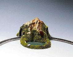 Buildings Tunnels and Bridges 120273: Noch 44670 Single Track W Pond Curve Z Scale Model Kit -> BUY IT NOW ONLY: $55.77 on eBay!