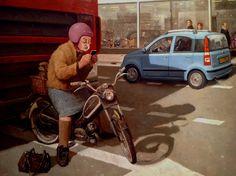 Marius van Dokkum Hollandse schilder uit Dokkum.