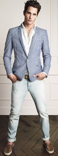 Smart Casual Style | Men's Fashion | Menswear | Men's Outfit for Spring/Summer | Moda Masculina | Shop at designerclothingfans.com