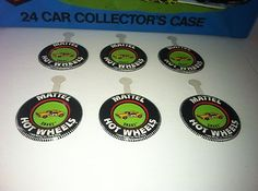 ORIGINAL, VINTAGE HOTWHEELS REDLINE SNAKE BUTTON LOT OF SIX LIKE NEW!! about to sel in 9 minutes on Ebay for 10.99 Free Shipping :)